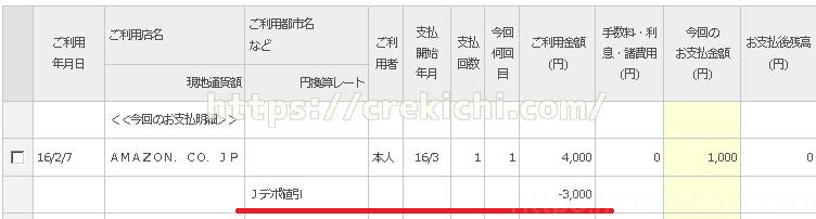 カードご利用代金明細(2016年3月) ご利用状況の確認 ジャックス インターコムクラブ
