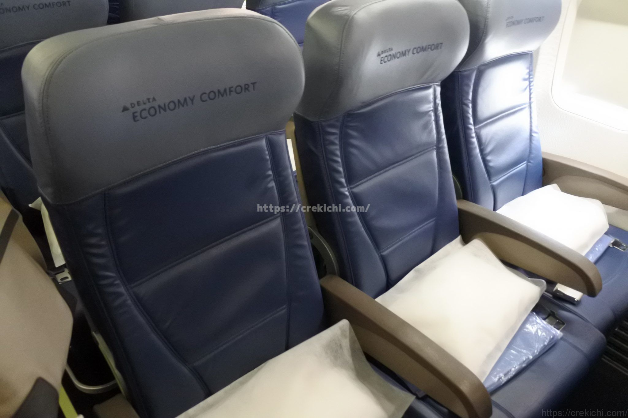 コンフォートプラスの座席