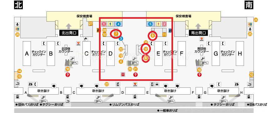 関空台湾ドル両替所