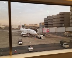 JAL221便搭乗記