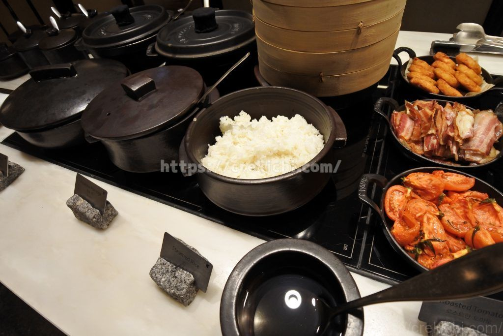 朝食 白米