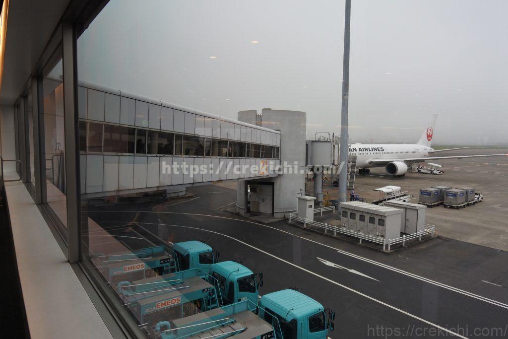 函館行きJAL585便