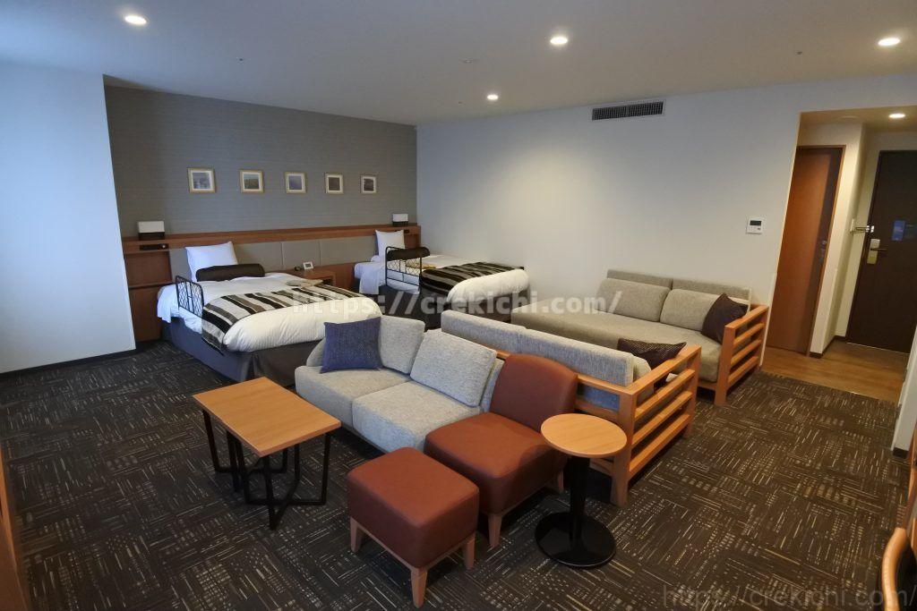 函館国際ホテルデラックスファミリールーム